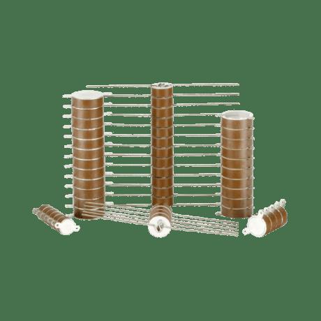 High Voltage Ceramic Capacitor Stacks