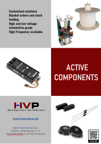HV Active Components Suppliers In Germany